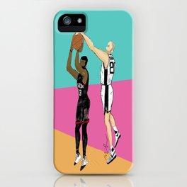 Manu Ginobili iPhone Case