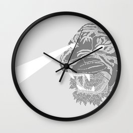 #Tiger Wall Clock