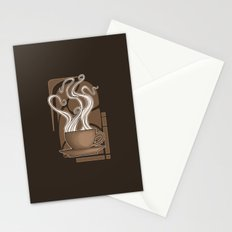 Coffee Nouveau Stationery Cards