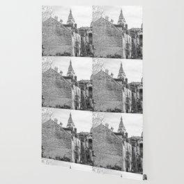 Sacre Coeur view Montmartre Paris Wallpaper