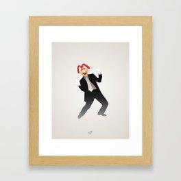 Manic Noid Framed Art Print