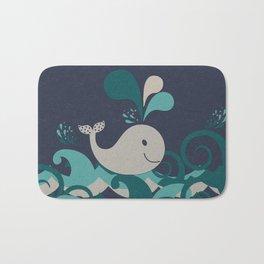 A Whale Of A Time Bath Mat