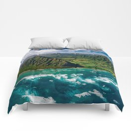 Jurassic Park Panoramic Comforters
