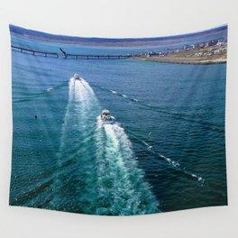 Sailing Through Wall Tapestry
