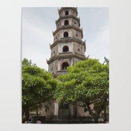 Thien Mu Pagoda Poster
