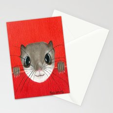 Cute baby Squirrel Bright Bold Colors Childrens decor Nursery Art Stationery Cards
