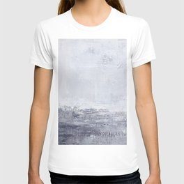 lilac abstract T-shirt