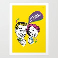 Alegria  Art Print