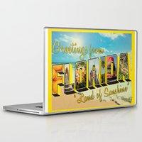 florida Laptop & iPad Skins featuring Florida by JessicaSzymanski