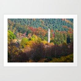 Autumn at Glendalough (RR 171) Art Print