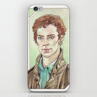 cumberbatch iPhone & iPod Skins featuring Benedict Cumberbatch by Jess P.