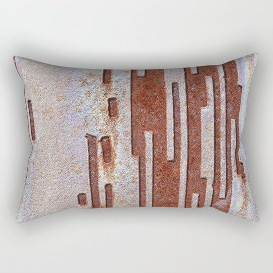 Alien Rust Rectangular Pillow