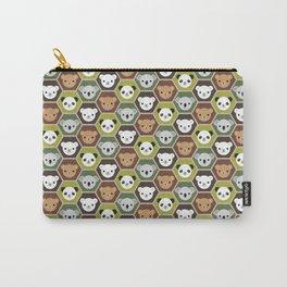 Kawaii Autumn Bears Carry-All Pouch