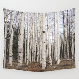 Trees of Reason - Birch Forest Wall Tapestry