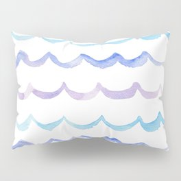 Life is Swell - Ombre Waves Pillow Sham