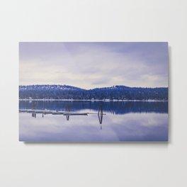 Lake Cascade Metal Print