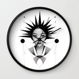 Dark Homonyms VI Wall Clock