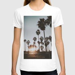 palm trees vi / venice beach, california T-shirt