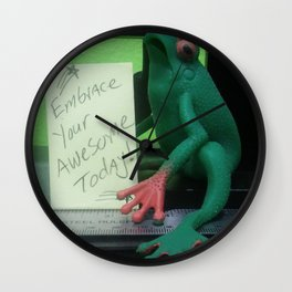 Awesome Frog Wall Clock