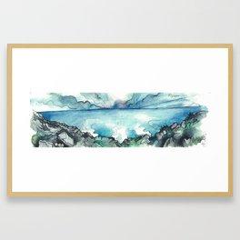 Camino Finisterre - El fin del mundo Framed Art Print