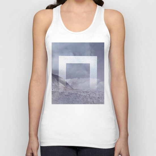 The Portal between the Mountains Unisex Tank Top