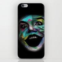 the joker iPhone & iPod Skins featuring Joker by Urban Artist