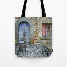 Old House in Italy Tote Bag