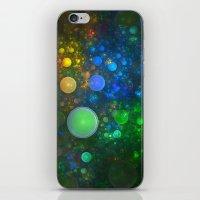 bath iPhone & iPod Skins featuring Bubble Bath by Lyle Hatch