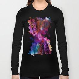 Fluid Abstract 26 Long Sleeve T-shirt