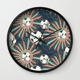 Gardenia art deco Wall Clock