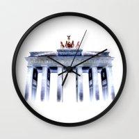 berlin Wall Clocks featuring berlin. by zenitt