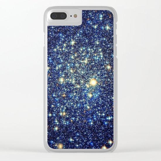 Twinkle, Twinkle Little Stars Clear iPhone Case