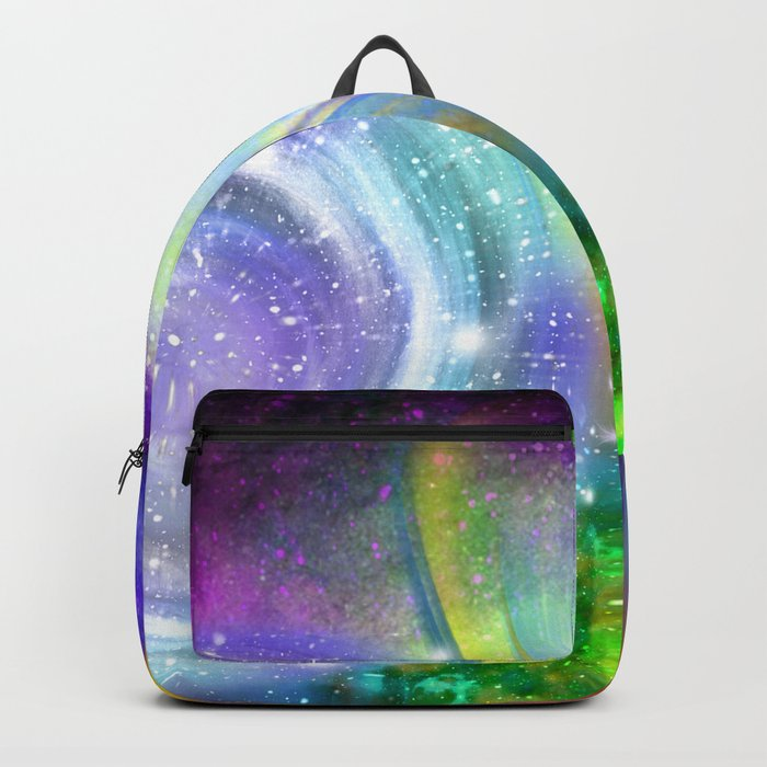 Rainbow space Backpack