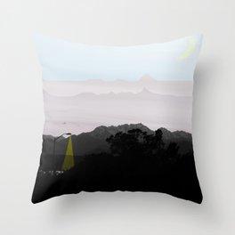 Under a Watchful Sky Throw Pillow