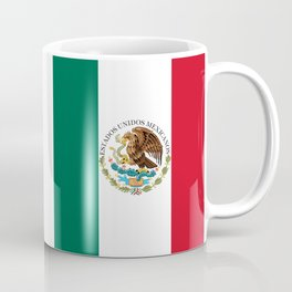 Flag of Mexico - alt version with seal insert Coffee Mug
