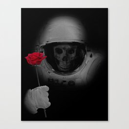 Dead Head In Space Canvas Print