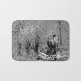 Rhinos Are Us Bath Mat
