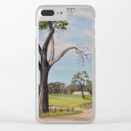 The Blessed Road Home Clear iPhone Case