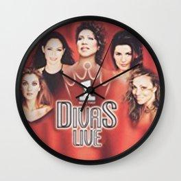 DIVAS LIVE 99 Wall Clock