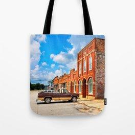 Gone To Town - Rural Georgia Tote Bag