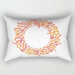 Karma will get you bad ;) Rectangular Pillow