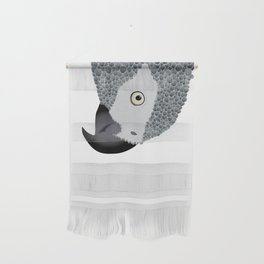 African Grey Parrot Wall Hanging