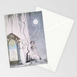 East of the Sun and West of the Moon - The Lassie & her Grandmother Stationery Cards