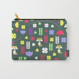 Foxes, flowers and more Carry-All Pouch