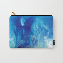 Blue Tempest Carry-All Pouch