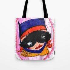 Batgirl in Love Tote Bag