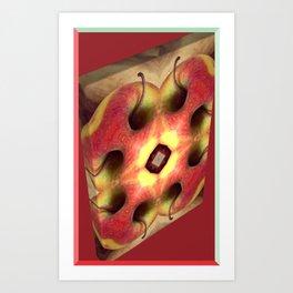 Deformed Breakfast Nr.2 Art Print