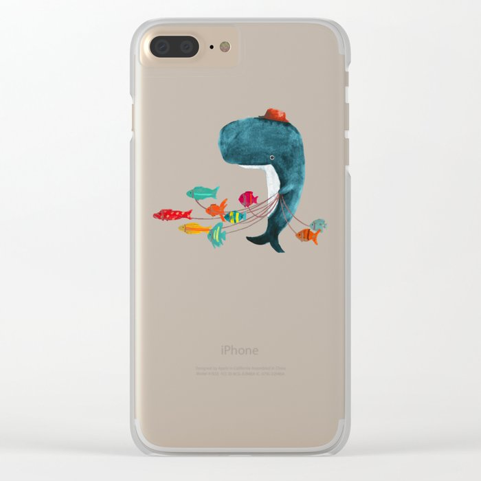 My Pet Fish Clear iPhone Case