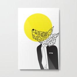 Wolf in Men's Clothing 2 Metal Print