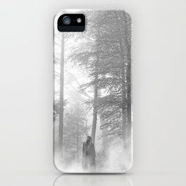 folklore (with fog) iPhone Case